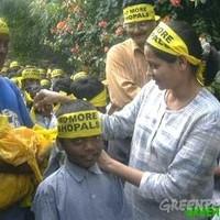 Segíteni a Greenpeace-t - egy indiai támogató tollából