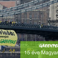 15 éves lett a Greenpeace Magyarország