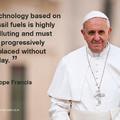 Már a pápa is arról beszél, hogy itt az ideje közösen cselekednünk a klímaváltozás ellen