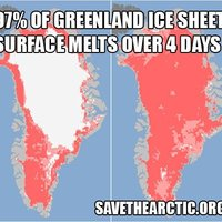 NASA: Négy nap alatt megolvadt Grönland...
