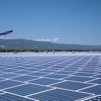 A világ első napenergiával működő repülőtere