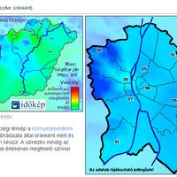 Időkép.hu - Légszennyezettség - Extrém Napikép: Újra van levegő!