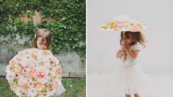 GW dekor tipp: virágból napernyőt