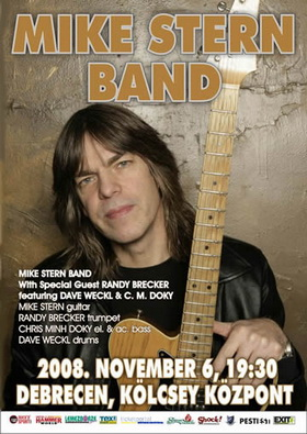 Mike Stern Band poster