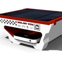 Solar Vox: napelemes töltő hordozható eszközökhöz