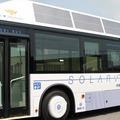 Solarve: a Sanyo napelemes autóbusza