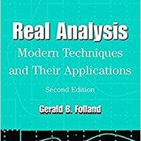 ??PORTABLE?? Real Analysis: Modern Techniques And Their Applications. finding inspirar lugar ingresa Seminar magic utilizar