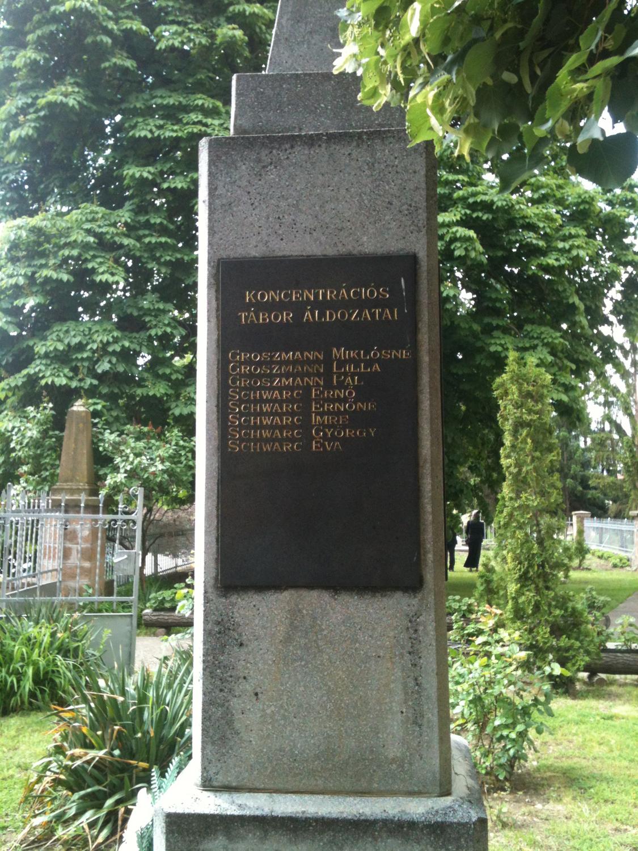 II.. világháborús emlékoszlop