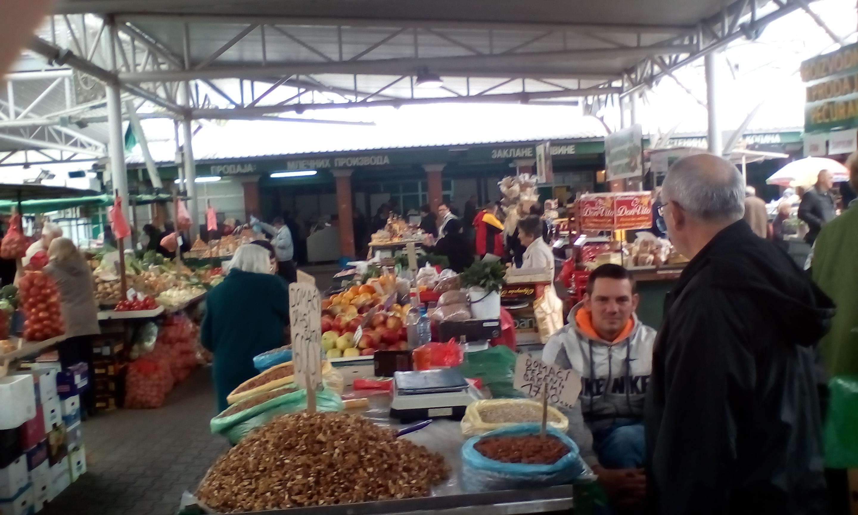 Pillanatkép az újvidéki piacról