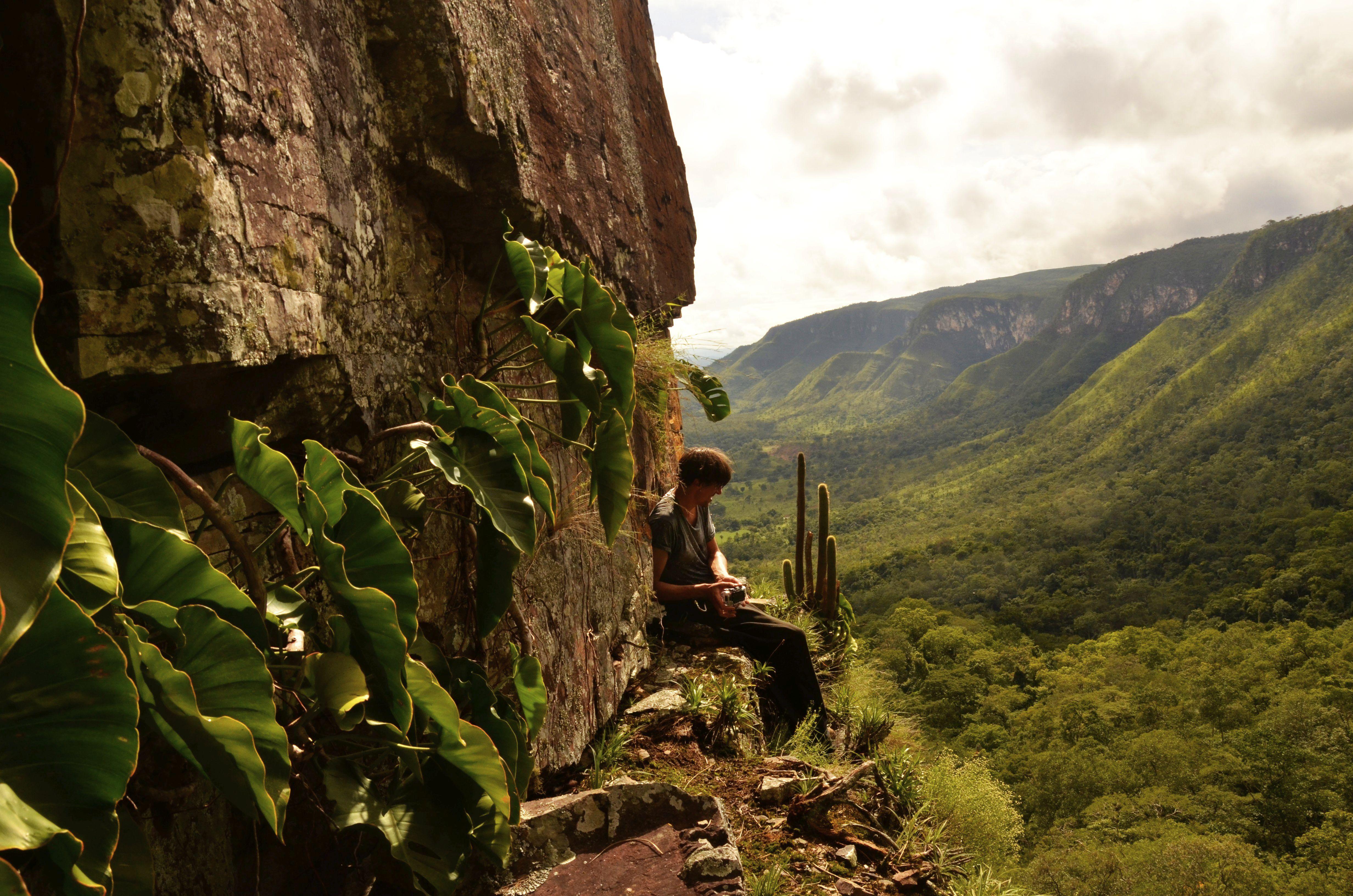 Pihenés a sziklaszirten (Sebastian)