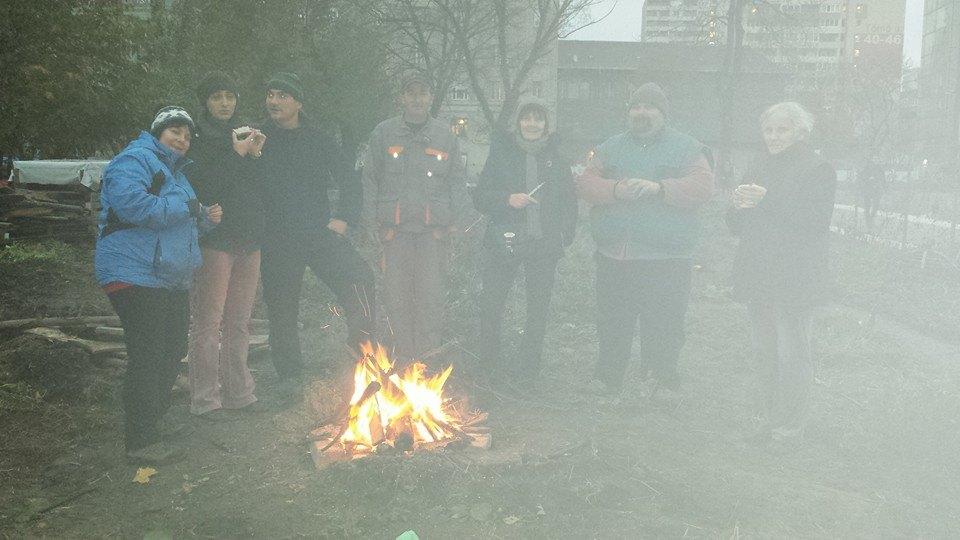 A tűz - kertzárás, felszámolás 2014