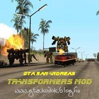 GTA San Andreas – Transformers Mod LETÖLTÉSE !