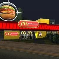 McDonald's mod letöltése gta sa