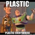 Mert ez műanyag