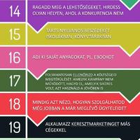30 nagyszerű marketing-ötlet