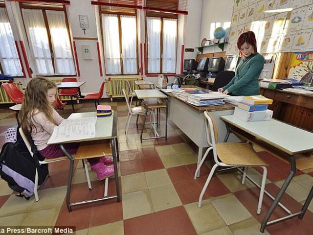 A világ legkisebb iskolája