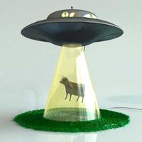 Tehenet lopkodó UFO
