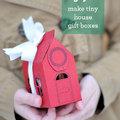 Karácsonyi kisházak az otthoni nyomtatóból