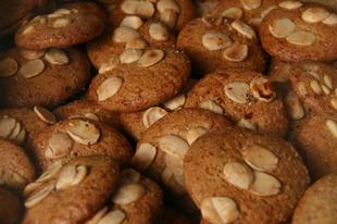 Házi mandulás keksz