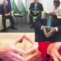 Orbán Viktor miniszterelnök illuminátus jelet villantott Putyinnak?