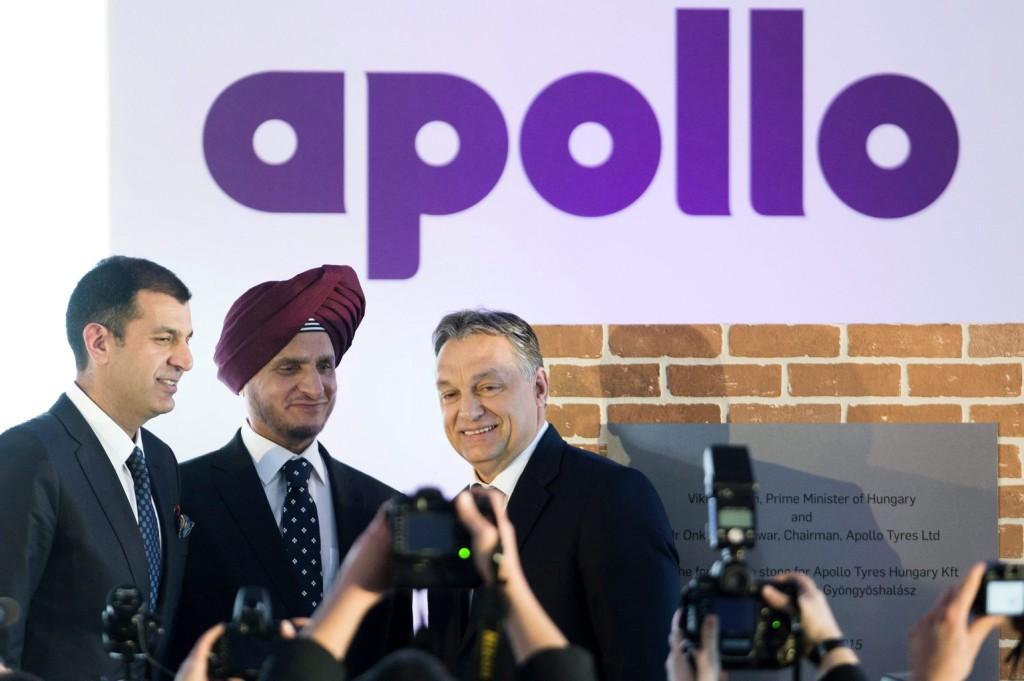 Kiváló termőföldre épült az Apollo Tyres gumigyára