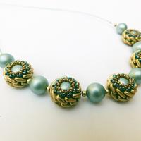 Mint necklace