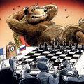Belehel Győrbe az Orosz medve