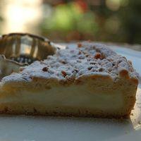 Cukrászkrémes pitetorta – avagy torta della nonna újragondolva