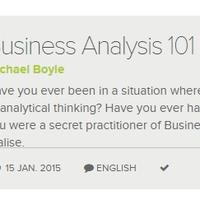 Milyen kompetenciákkal rendelkezzen egy üzleti elemző? (Business Analysis 101 képzés, 1. kurzus)