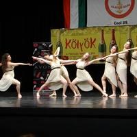Felnőtt művészi látványtánc csoport II. helyezés a Klauzál kupán
