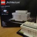 A washingtoni Lincoln-emlékmű LEGO változata