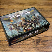 Az első kickstarter-em, The Great War