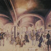Kávéház és forradalom-A Petőfi Irodalmi Múzeum kiállítása a Hadik Galériában
