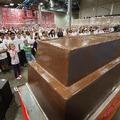 Elkészült a Világ Legnagyobb Csokiszelete