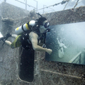 Kiállítás a vízfelszín alatt