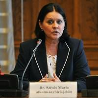 Szívós Mária - Nyilvános jelentés a FIDESZ–KDNP által  javasolt öt alkotmánybíró-jelöltről