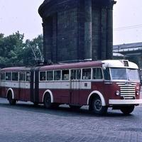 Budapesti trolik a hatvanas-hetvenes években