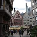 Séta Frankfurt am Main óvárosi főtere körül