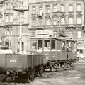 Tehervillamosok Budapest utcáin