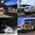 Vonatozgatás Brandenburgban