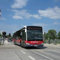A Bécs - Pozsony vasútvonal nagygenerál előtt