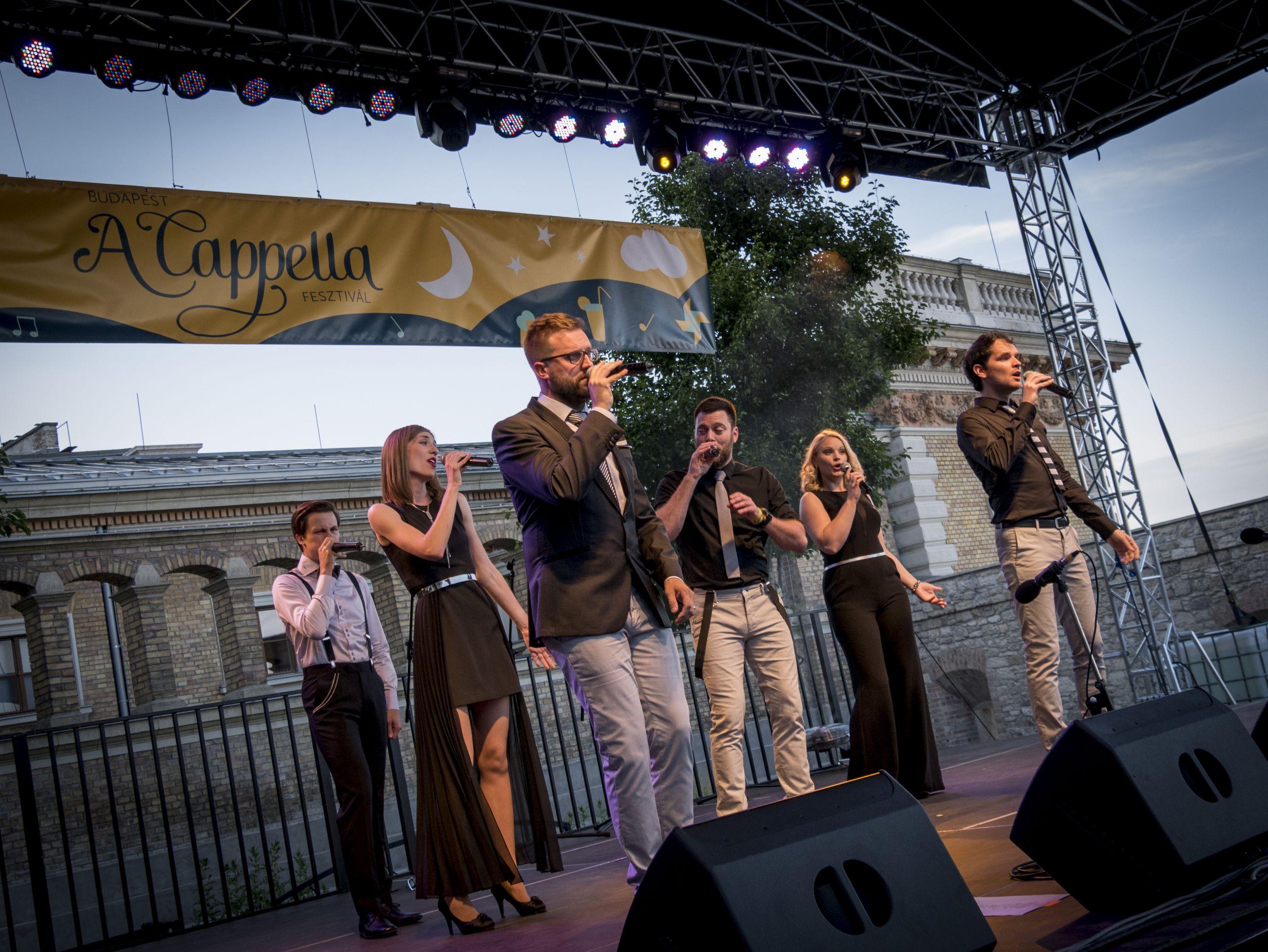 Vocal Band Kreativo<br />Fotó: Vargha Máté<br />http://www.budapestacappella.hu/fellepo/kreativo-2/