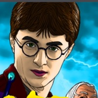 Harry Potter Coloring Játék