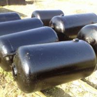 Használt vas acél tartályok