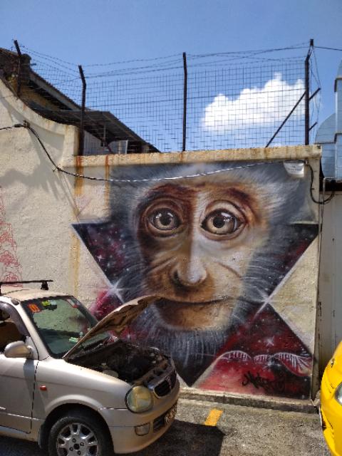 Georgetown falfestményei