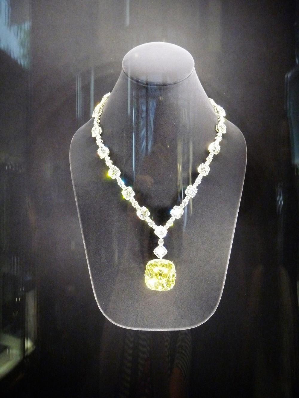 A híres sárga Tiffany gyémánt