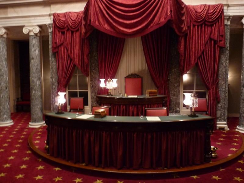 A szenátus régi ülésterme
