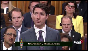 VIDEO- Kanada miniszterelnöke bocsánatot kért az LMBTQI közösségtől