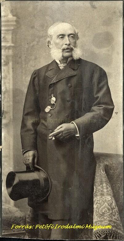 Az idős gróf (1910-es évek eleje)