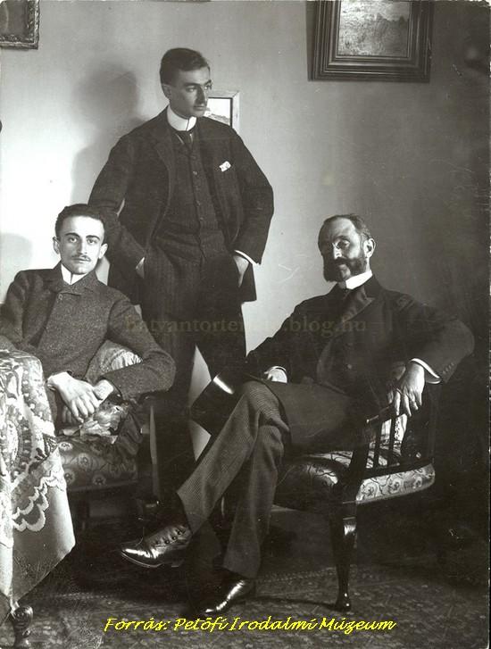 Fiai, Lajos és Ferenc körében (1890-es évek második fele)